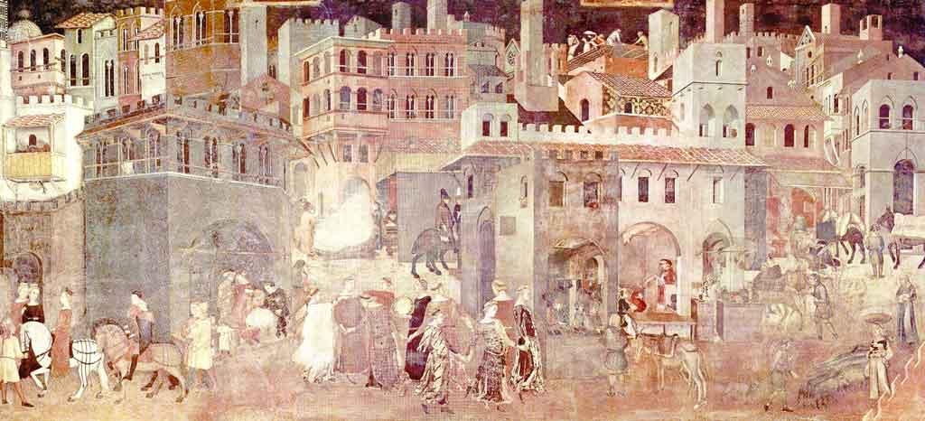Ambrogio Lorenzetti - Allegoria del Buongoverno